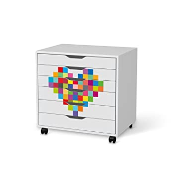 Meubles Décoratif Pour Ikea Alex Bureau Caisson à Roulettes 6