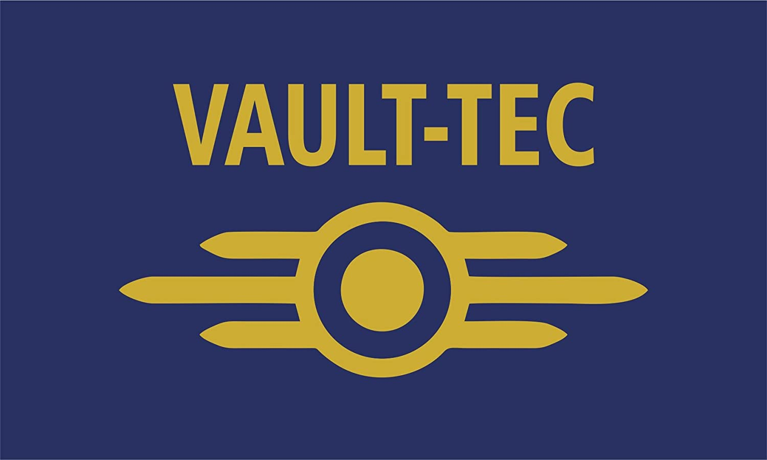 Fallout Vault-Tec Banner Flag 3x5 Corporate Logo Vaulttec 3x5 Ships from the USA