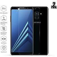 [2 Stück] Samsung Galaxy A8 2018 Schutzfolie, Beyeah Panzerglas Displayschutzfolie [9H Härte] [Anti-Kratzen] [Anti-Öl] [Anti-Bläschen] [lebenslange Garantie]