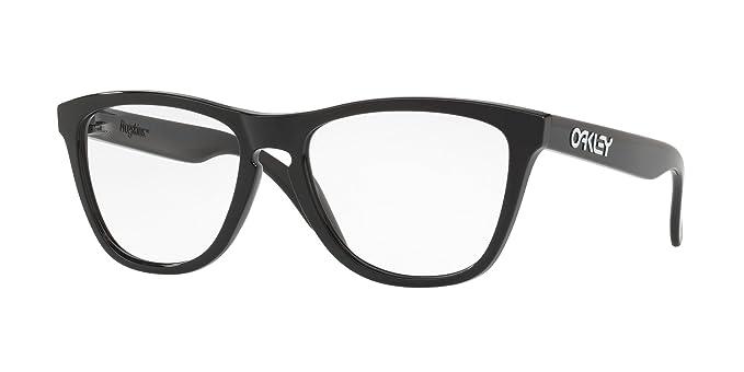 Oakley RX Frogskins, Monturas de Gafas Unisex, Negro, 55