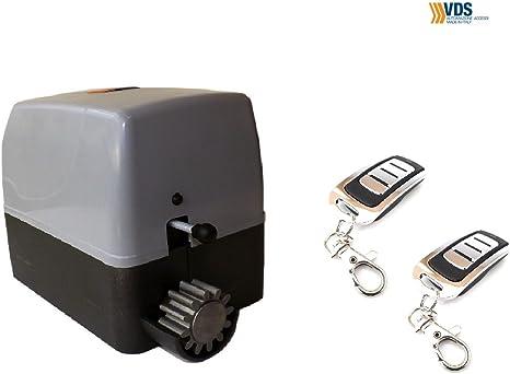 KIT Motor puerta cancela corredera VDS Geko 400kg, 220v, para automatizar puertas y cancelas correderas de uso residencial, parking, garaje, cochera, alta calidad con 2 mandos modelo TX4 rolling code: Amazon.es: Bricolaje