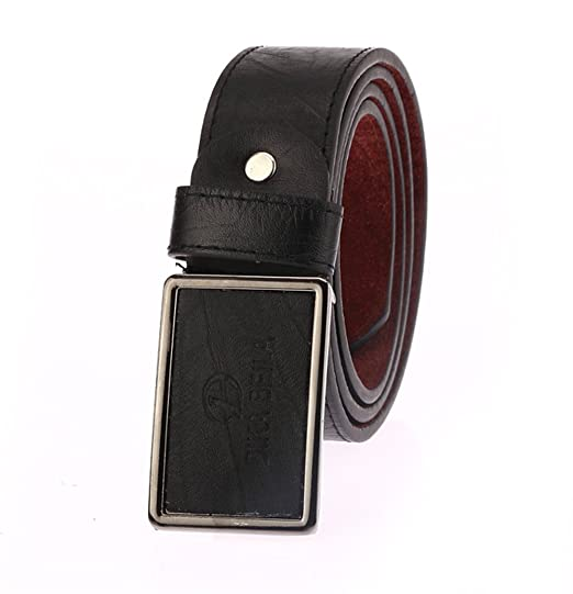 Mens Fashion Casual Waistband Leather Automatic Buckle Belt Waist Strap Beltss