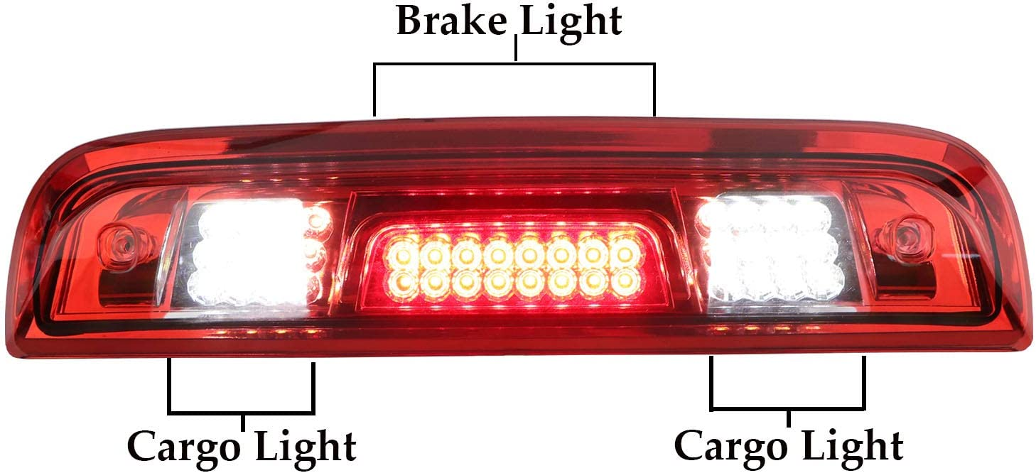 Step Insert Pad Lights with Function of Turn Signal Lights Tail lights Brake Lights Reversing Lights for 2015-2018 Silverado 1500//2500//3500HD 2016-2018 Sierra 1500//2500//3500HD Rear Bumper Corner LED