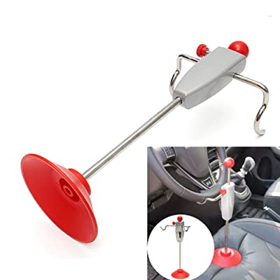 SAVEMORE4U18 Car 14.5''/368mm Steering Wheel Holder Stand Tool Wheel Alignment Essential Tool: Automotive