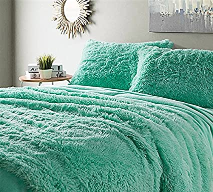 Amazon.com: Byourbed Are You Kidding Twin XL Sheets   Mint: Home