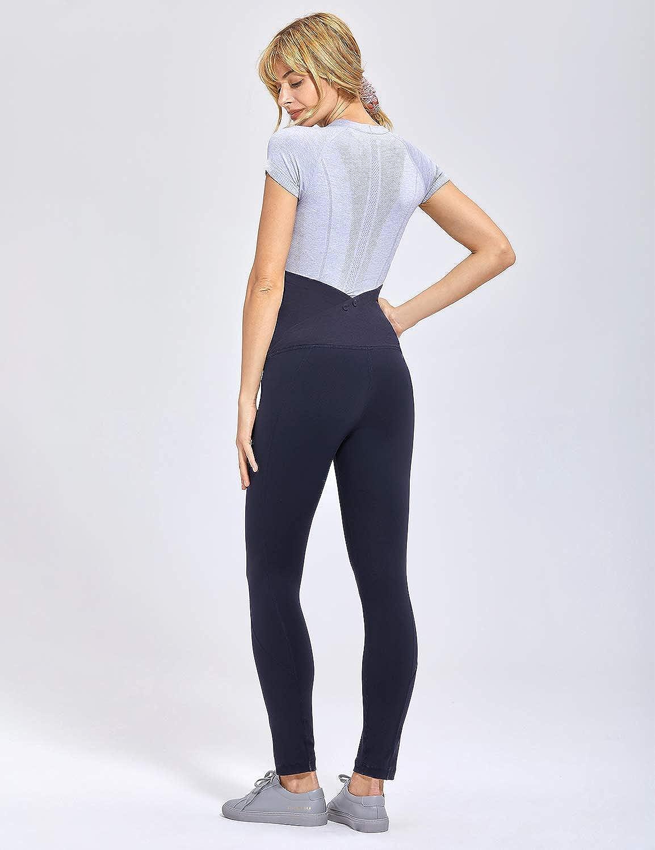 de6b9cda8 Gratlin Femme Leggings de Grossesse et Maternité Enceinte Long Pantalon   Amazon.fr  Vêtements et accessoires
