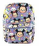Disney Tsum Tsum Cute Mini Characters Backpack 16' - Purple