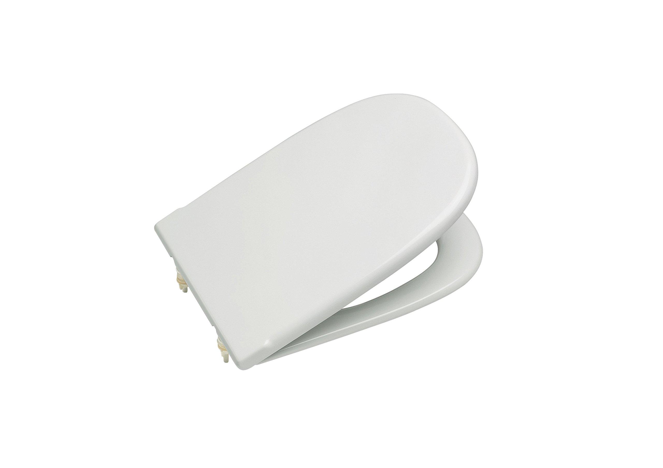 Roca Dama Retro A801327004 - Tapa y asiento para inodoro con bisagras extraíbles