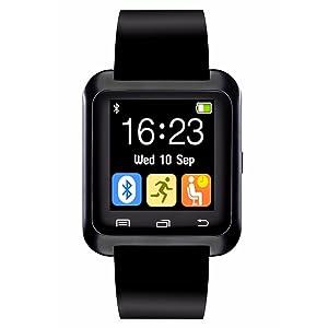CHEREEKI Smartwatch Bluetooth Smart Watch Reloj Inteligente Teléfono Inteligente con Podómetro Compatible con Android Smartphones Samsung HTC LG Huawei Sony...