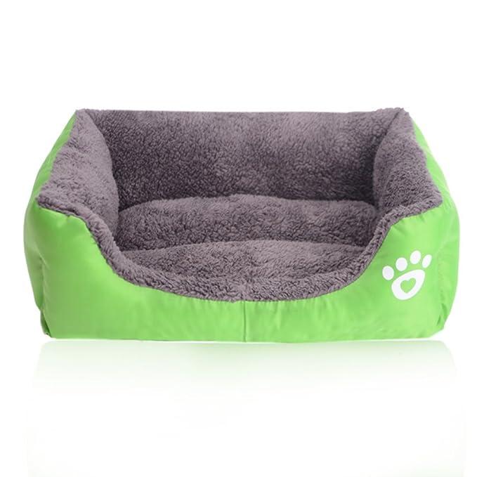 LA VIE Sofá Cama para Perro Impermeable en la Base Cojín Cama Cómoda y Suave para Mascotas Cesta para Gatos Cachorros Perros Pequeños y Medianos XL ...