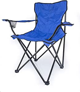Camptrek Foldable Beach And Garden Chair, Blue, BCI-3706