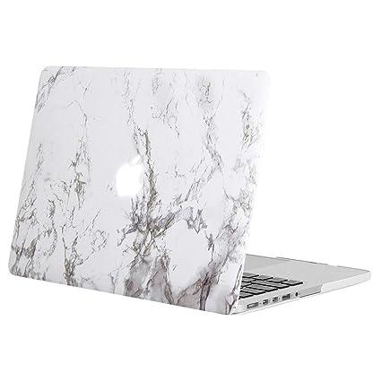 MOSISO Funda Dura Compatible con MacBook Pro 13 Retina A1502 / A1425 (Versión 2015/2014/2013/fin 2012), Carcasa Rígida Protector de Patrón de Plástico ...
