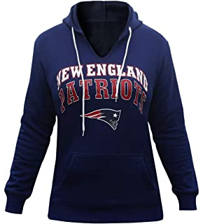 Winzonup Womens V Neck Sporty Football Patriots Sweatshirt Pullover Hoodie a2142c8fb