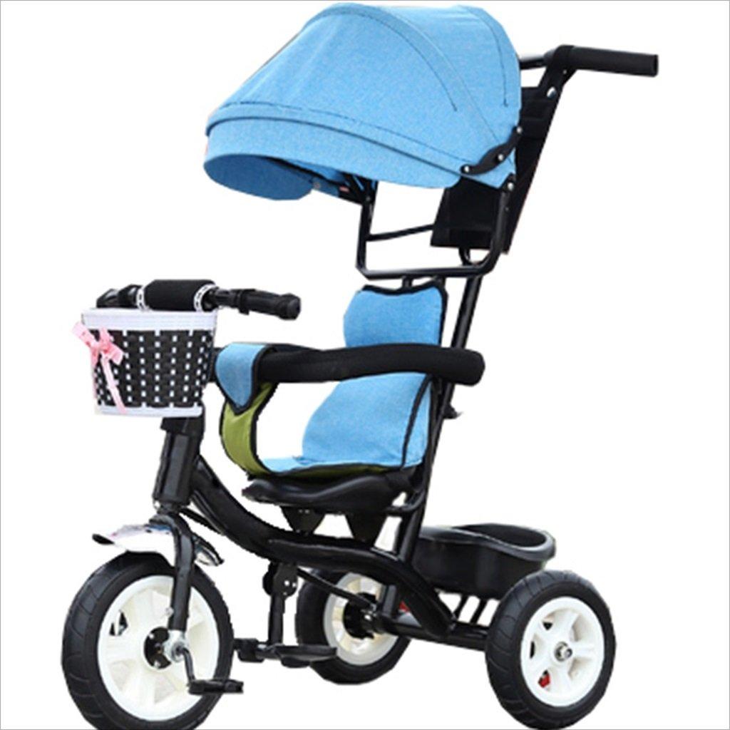 子供の屋内屋外の小さな三輪車自転車の男の子の自転車6ヶ月6歳の赤ちゃんの三輪車の女の子の自転車三輪トロリー天井、ゴムホイール (色 : 9) B07DVHV6JX 9 9