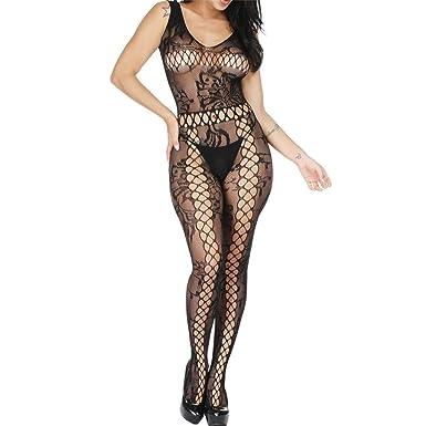 a20553d061 DaySing Lingerie Sets for Women Sexy Underwear Bodystocking Nightwear  Bodysuits Stockings Sleepwear Sex Bra Lace Plus