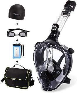 Amazon.com : Full Face Snorkel Mask 2018 Latest Upgrade ...