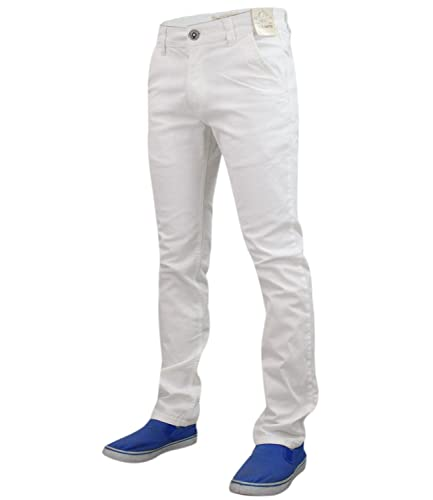 New Mens Designer Jack south Stretch Slim fit Chino Straight Leg Trousers Pants