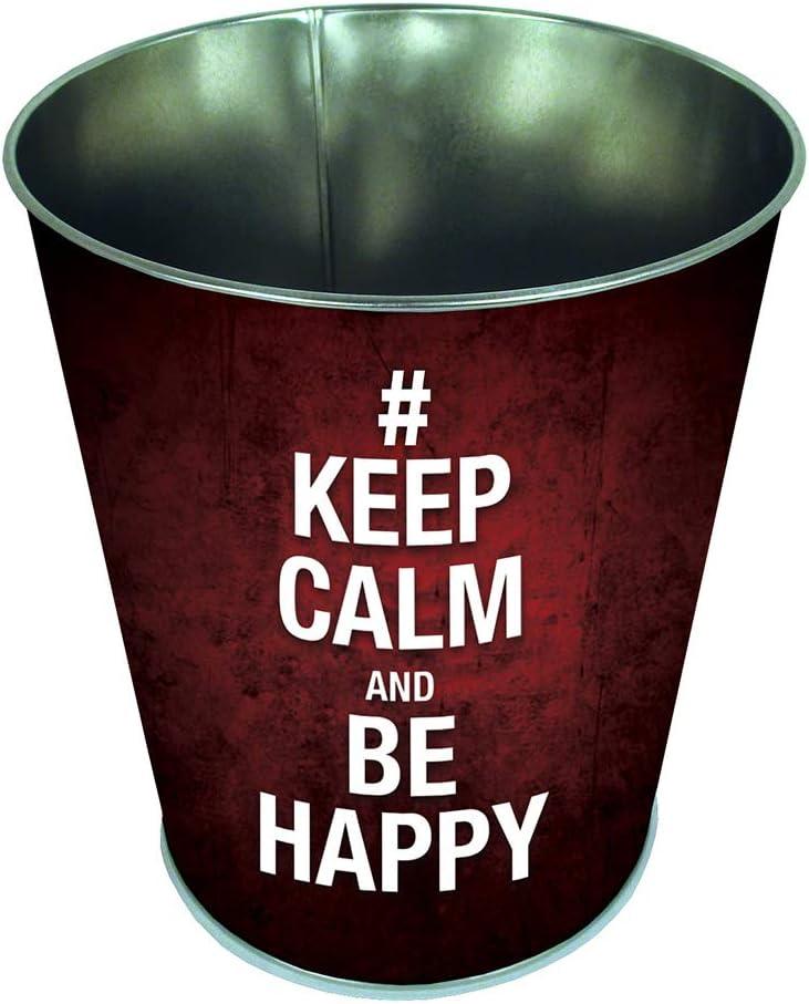 Cestino per carta Keep Calm