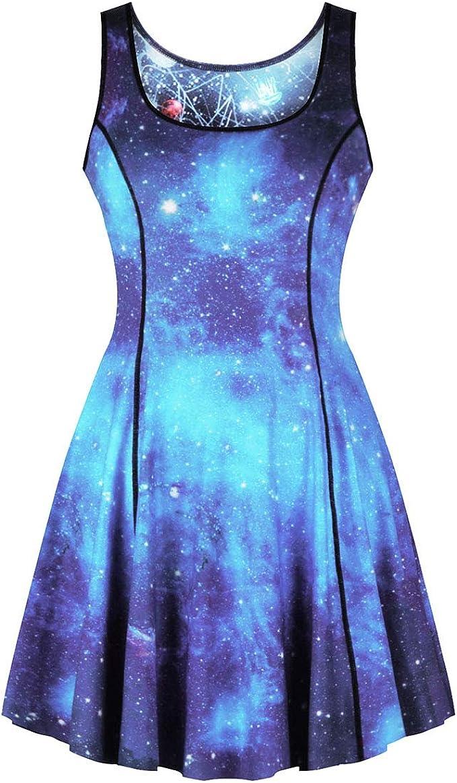 Amazon.com: Leezeshaw - Vestido de verano reversible para ...