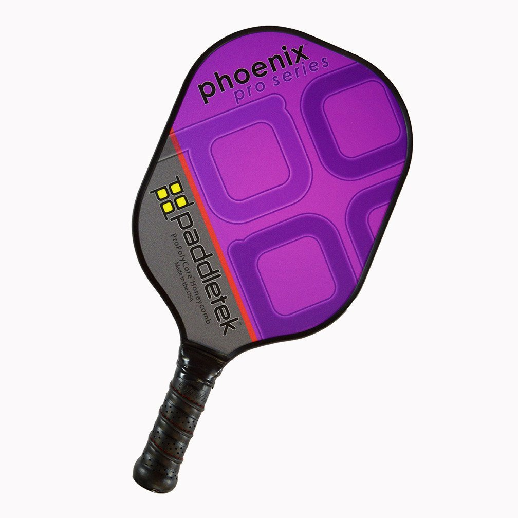 Paddletek Phoenix Pro Pickleball Paddle, Purple
