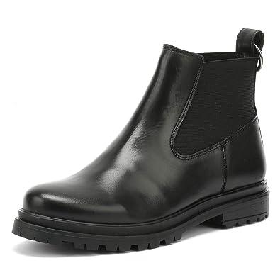 2c8e0dedadff6a Shoe The Bear Akira Damen Schwarz Leder Stiefel  Amazon.de  Schuhe ...