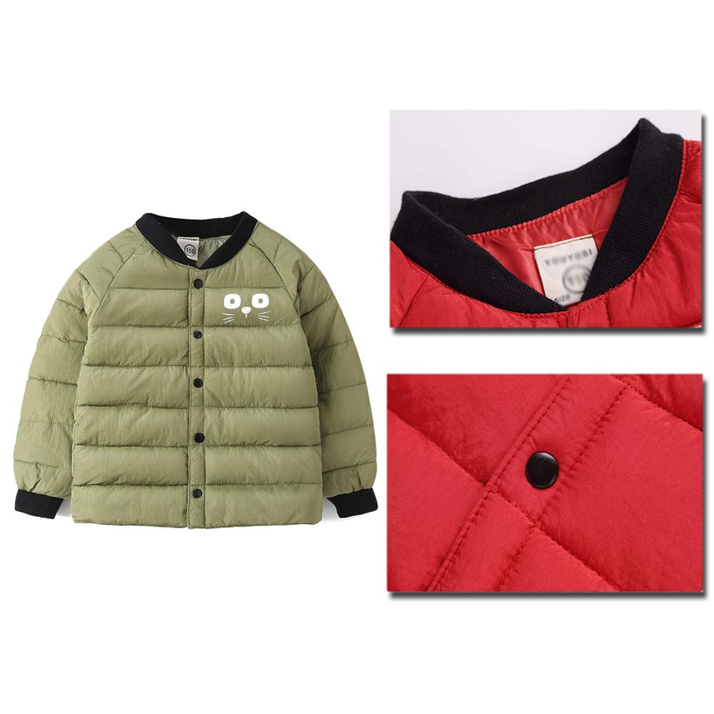 ZEVONDA Boys Coat Thick Padded Winter Warm Coat Jacket Kids Clothes 4 Colors
