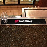 FANMATS - 15568 - FanMats MLB - Washington Nationals Drink Mat 3.25x24