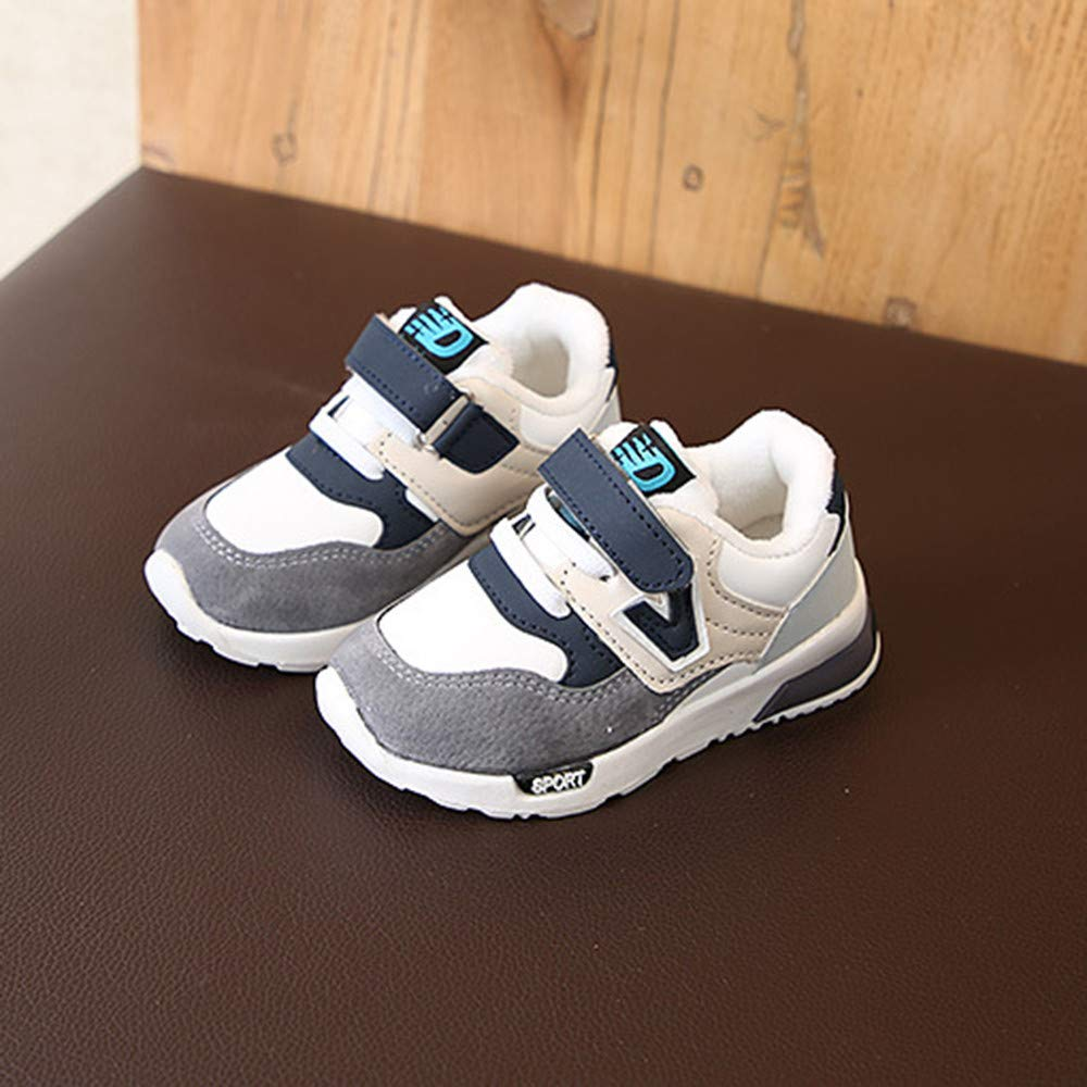 GorNorriss Baby Girl Shoes Toddler Winter Children Casual Sneakers Mesh Soft Running Warm Shoes