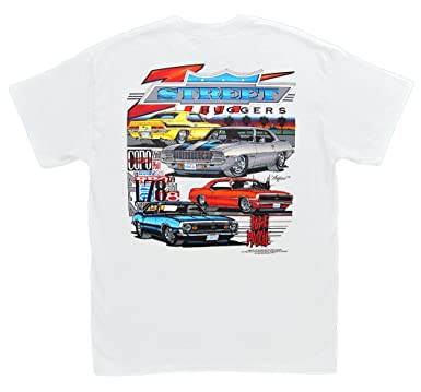 abf9d4e9 Amazon.com: Hot Shirts Chevrolet Camaro Z Street Huggers - Rock And Roll  Muscle T-Shirt: Z/28 SS RS: Clothing