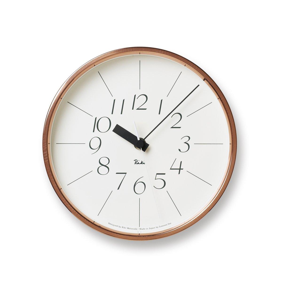 Lemnos WR11-04 RIKI- Copper Clock groß