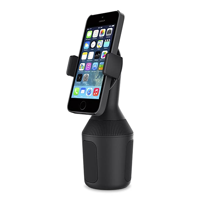 premium selection 9eaac 97ae5 Belkin Car Cup Holder Mount for Smartphones - Black - F8J168bt