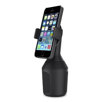 Belkin F8J168BT - Soporte de Smartphones para portavasos de Coche (Soporte para el portavasos de iPhone 11, 11 Pro, 11 Pro Max, XS Max, XS, XR, X y ...