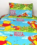 Home Hacks by Nistaksh Kids Special Cotton Single Bedsheet: Winnie the Pooh