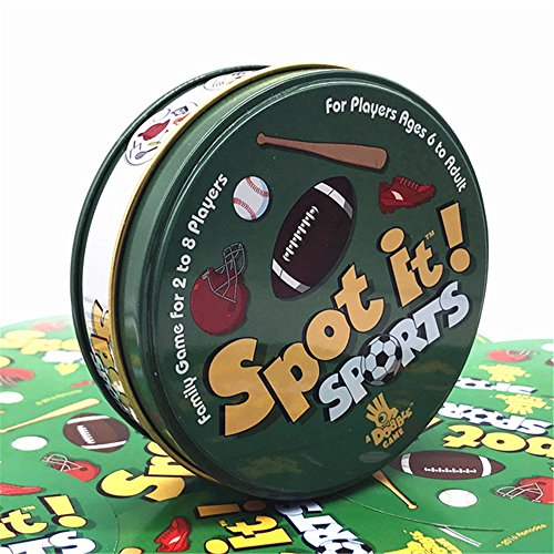 (Asmodee Spot It Gone Camping Card Game)