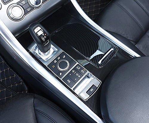 ABS Fibra di Carbonio Auto Centrale Pannello di Controllo Cornice Copertura Trim Leva del Cambio Pannello Telaio Decorativo Adesivo per Mercedes Ben z ML X166 GL GLE W166 GLS