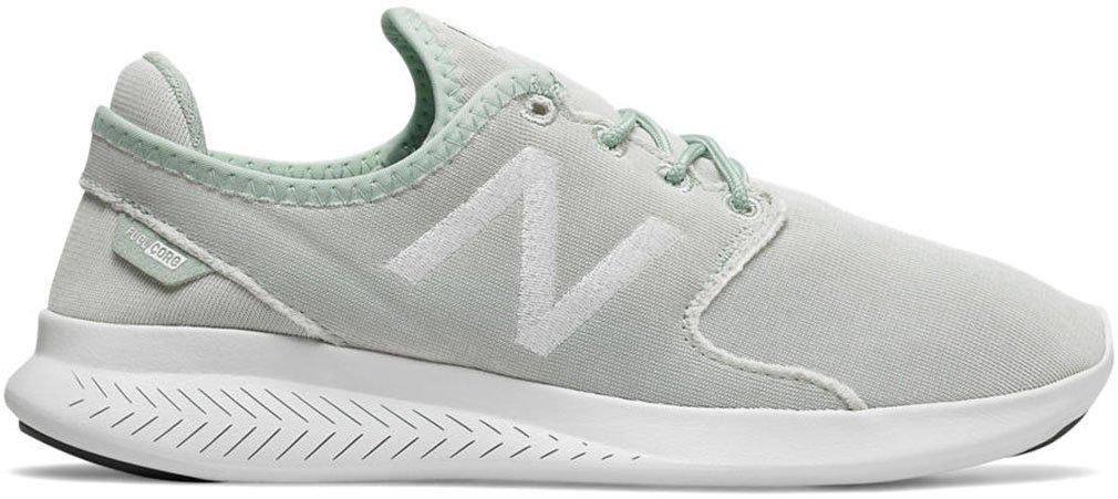 New Balance Women's Coast V3 Running-Shoes B01N9ZIXWR 8 D US Mint Creame/Artic Fox