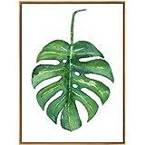 Peinture murale décorative plante verte, 9#, 30cm x 40cm