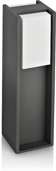 Image ofPhilips Bridge Lighting pedestal/sobremuro, resistente a la intemperie, color antracita, IP44           [Clase de eficiencia energética A]