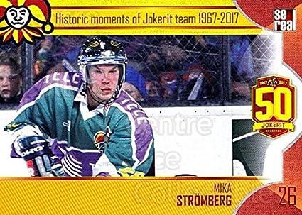 Amazon Com Ci Mika Stromberg Hockey Card 2017 18 Finnish Jokerit