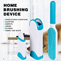 PETRICE Pet Hair, Dust, Lint Remover for Clothing & Furniture - Double Sided, Self-Cleaning & Reusable