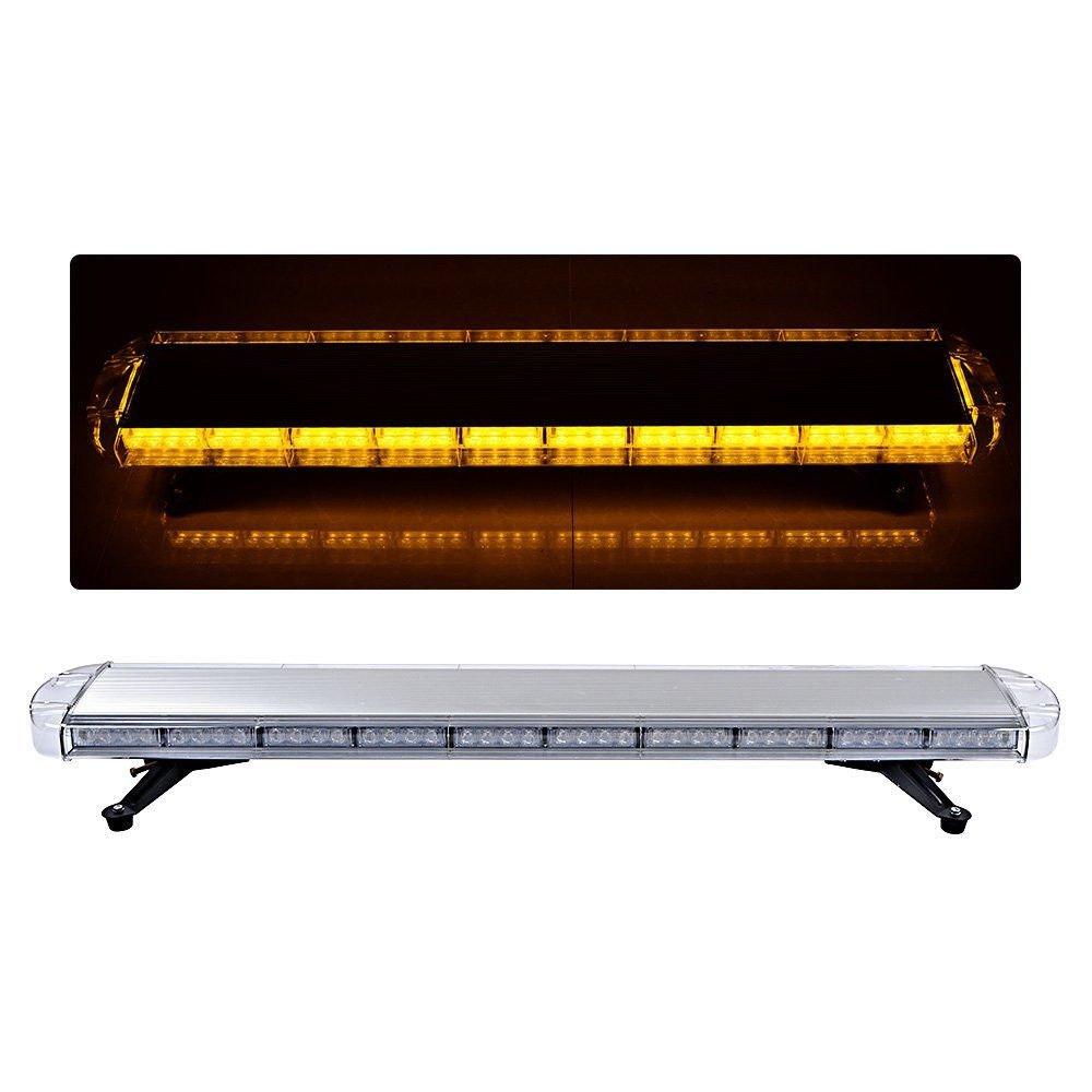 lumi/ère stroboscopique 1200/mm 88/W Couleur ambre Rampe de gyrophare /à 88 LED