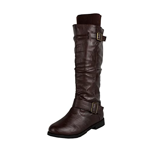 Womens West Blvd Madras Riding Slouch Boots Hot Sale Online Size 36