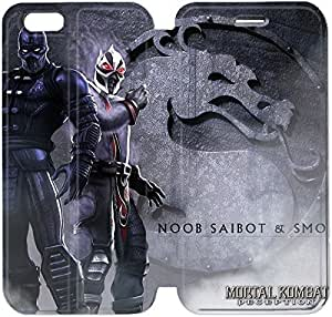 Flip Folio Leather Case for iPhone 6 4.7 inch Cell Phone Case Mortal Kombat HPM4611167