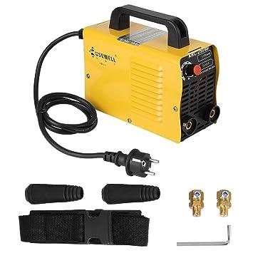 ARC-250 160A 2P Soldadora inversor máquina de corte de soldadura amarillo 220 / 240V (enchufe de la UE)(250V Enchufe de la UE): Amazon.es: Bricolaje y ...