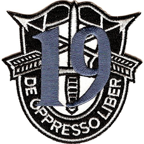 19th Special Forces Group Crest Blue 19 - Special Group 19th Forces