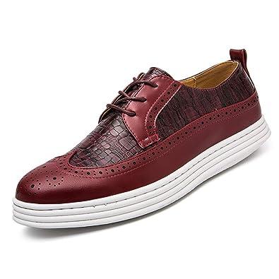 Xinke Oxford Zapatos de Vestir para Hombre, Informales, de ...