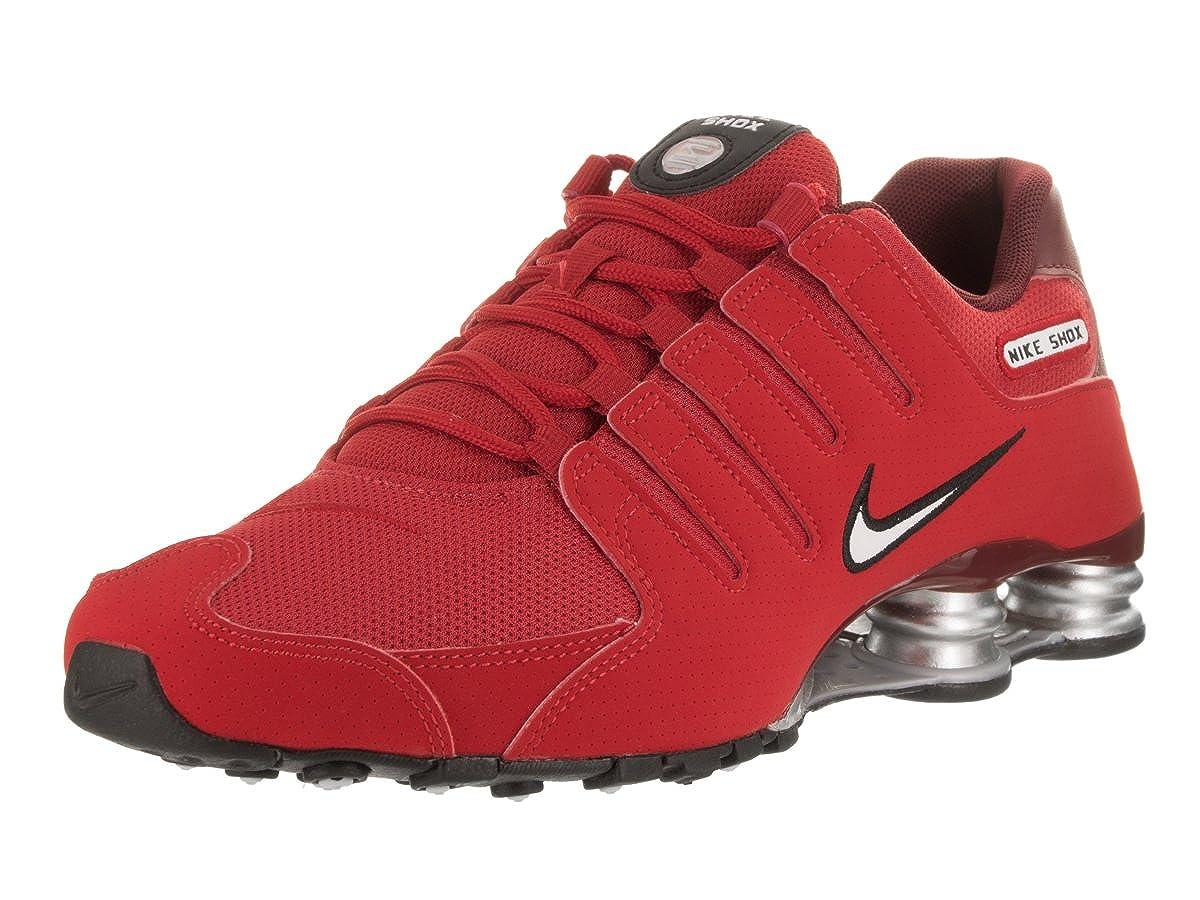 Univeristy rouge blanc Nike 501524-031, Closed-Toe Homme