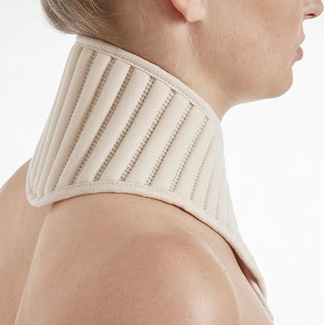 STAUDT Nackenband Uni - gegen Nackenschmerzen und spannungsbedingte Kopfschmerzen + Ratgeber gegen Nackenschmerzen (SomniShop