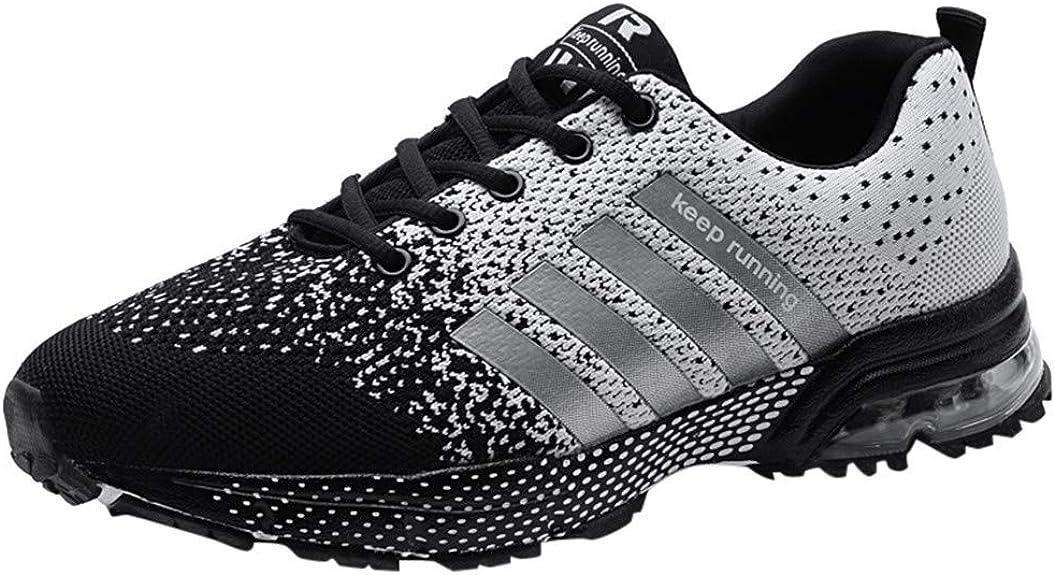 Unisex Zapatos de Deportes, Air Cordones Zapatillas de Running Fitness Sneakers Deportivas Correr Gimnasio Casual Zapatos Running Transpirable Aumentar Más Altos Sneakers: Amazon.es: Zapatos y complementos