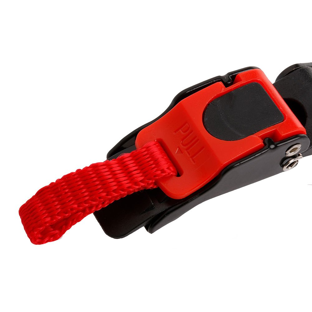 3x Replacement Motorcycle Bike Helmet Quick Release Clip Chin Strap Pull Buckle